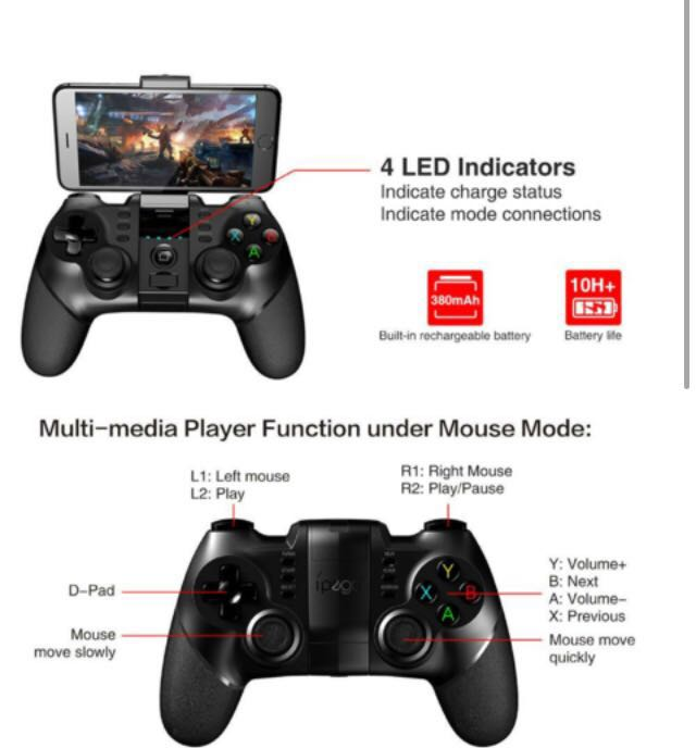 Beast mode Gaming Controller IOS/Android/PS4/PC