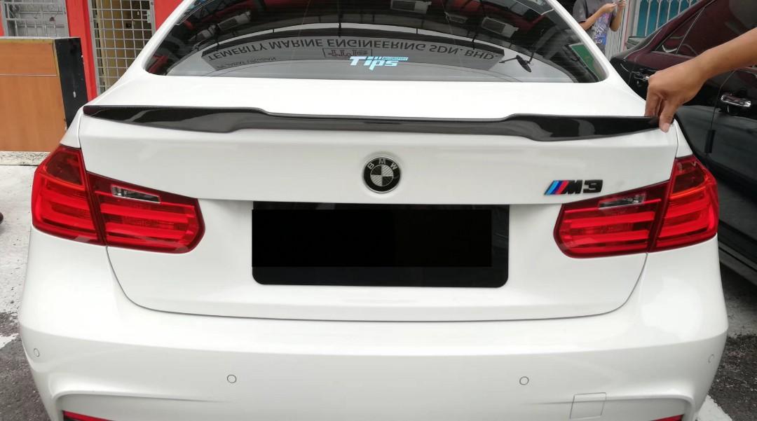 Bmw F30 M3 M4 Full Carbon Fiber Spoiler Car Accessories