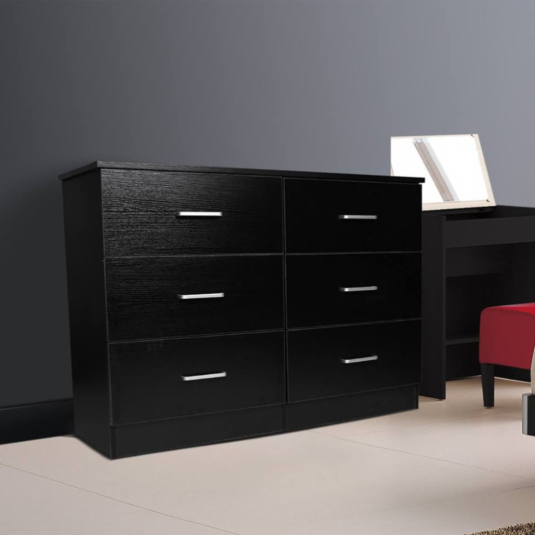 Brand New: Wardrobe Package 3 Door Wardrobe and 6 Drawer Chest Package
