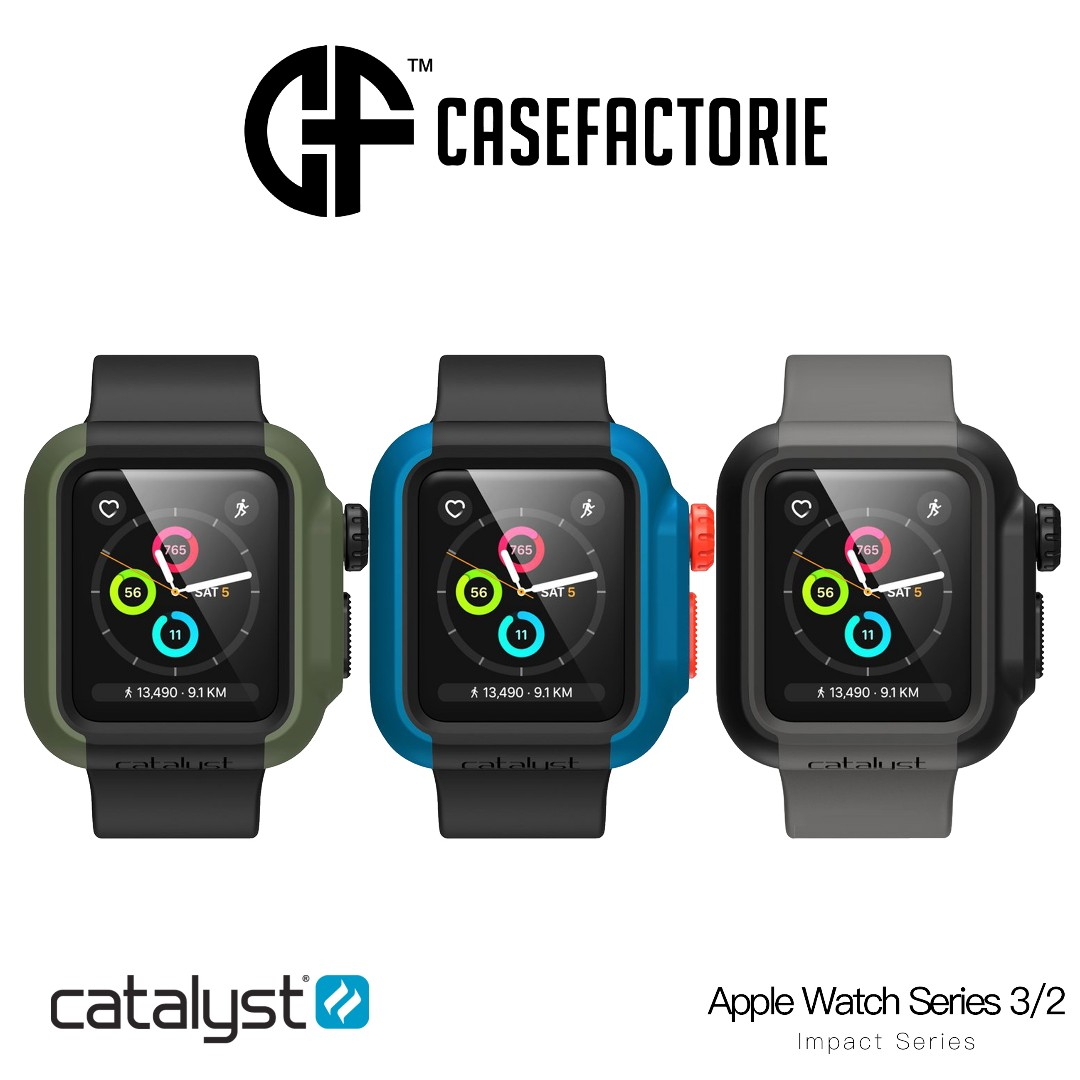 new arrival 9f15a fa10d Catalyst Impact Protection Case Apple Watch Series 3/2