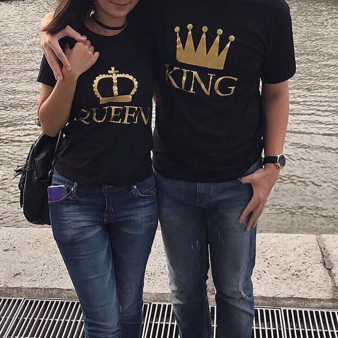 Customised Couple T Shirt Men S Fashion Clothes On Carousell