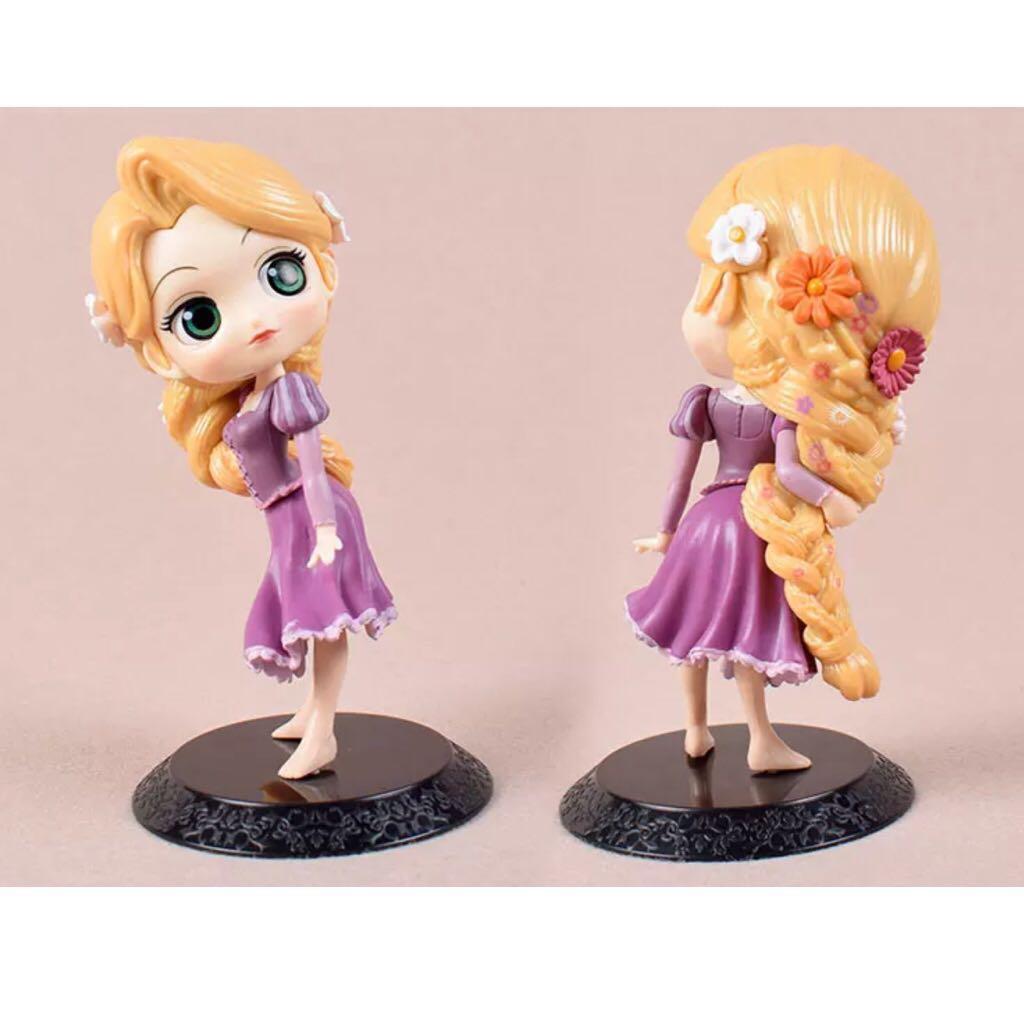 Disney Tangled Rapunzel Princess Cake Topper Figurine Toy Fondant