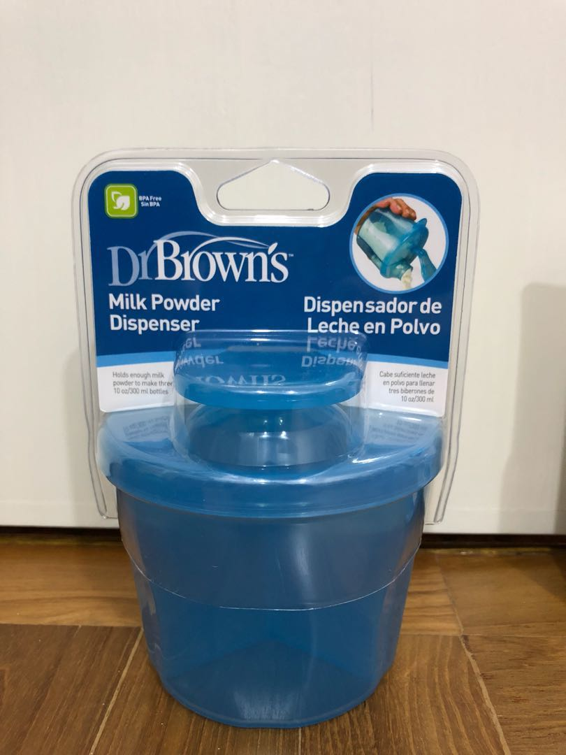 Blue Dr Browns Milk Powder Dispenser