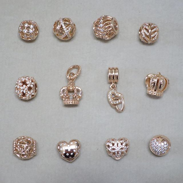 efd0edbff Exclusive* Pandora Rose Gold Collection Charms Instock, Luxury ...
