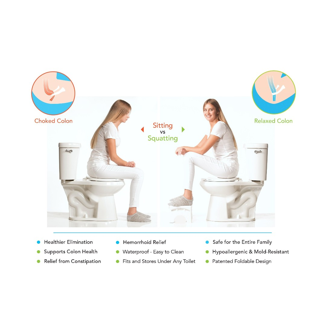 Foldable Toilet/Bathroom Stool Brand New, Home Appliances, Cooling ...