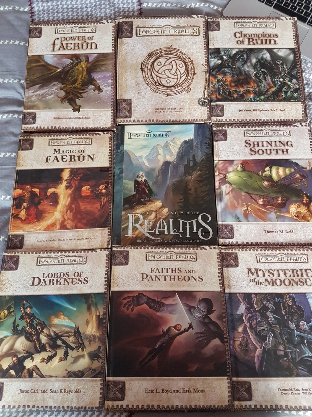 Forgotten Realms D&D 3 5 Books, Toys & Games, Others on