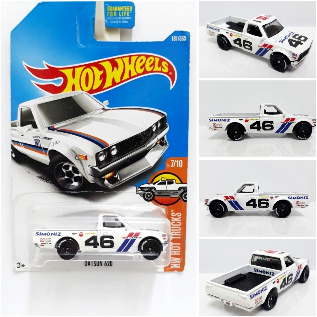 Hot Wheels Hotwheels Hw Datsun 620 Bre White Customs Toys Games