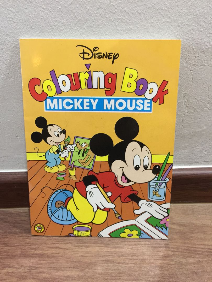 Kids Coloring Book Disney Books Stationery Children S Books On