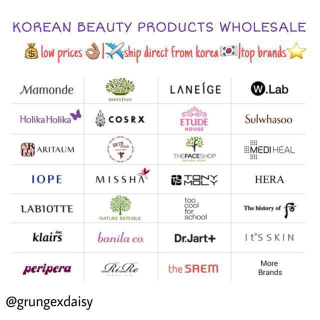 Korean Beauty Products Whole