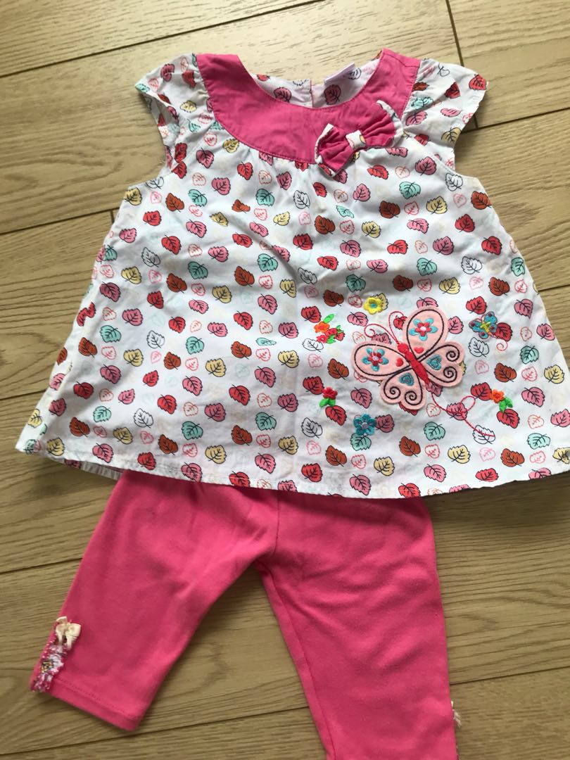 deda3aa8e3910 Laura Ashley baby girl set 12 months , Babies & Kids, Girls' Apparel, 1 to  3 Years on Carousell