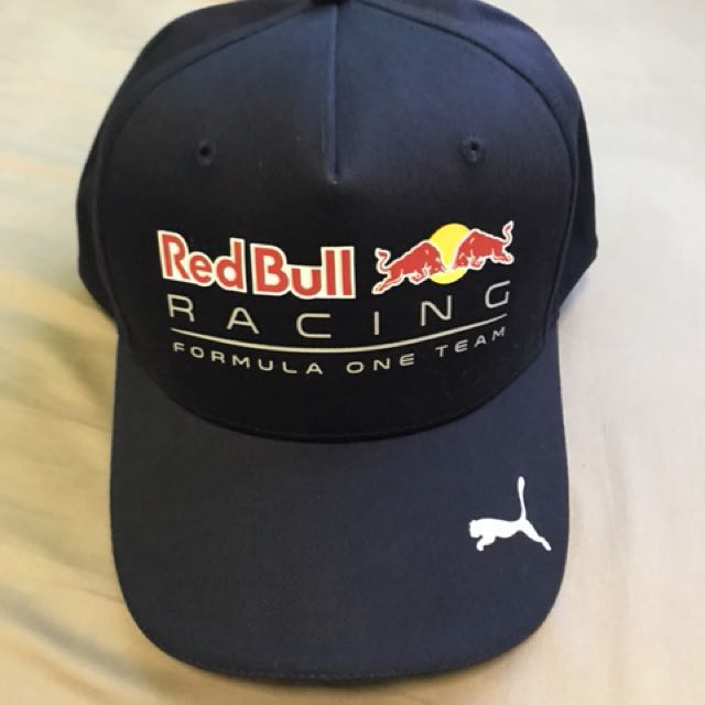 Limited edition 2017 SG F1 Red Bull Racing Cap by Puma bc519d907b7