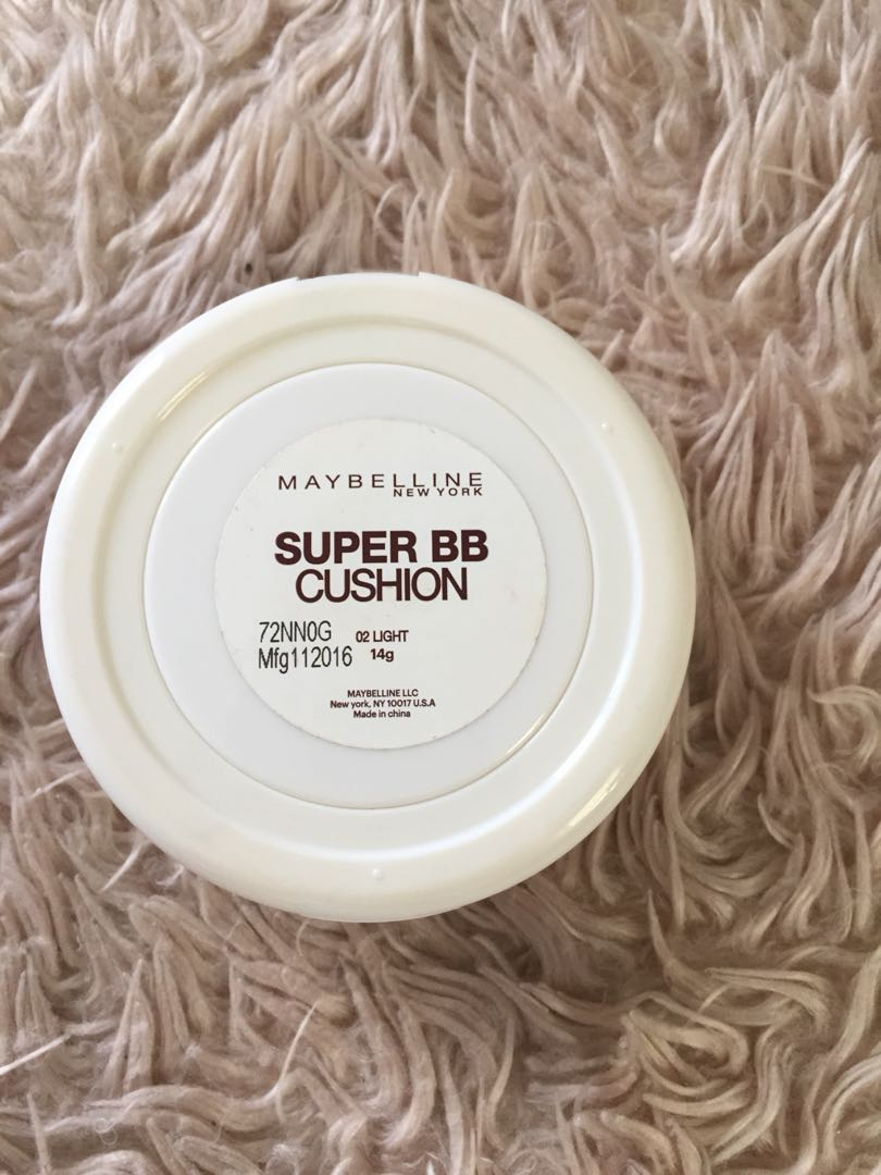 Maybelline Super Bb Cushion In Light Preloved Health Beauty Sand Beige Makeup On Carousell