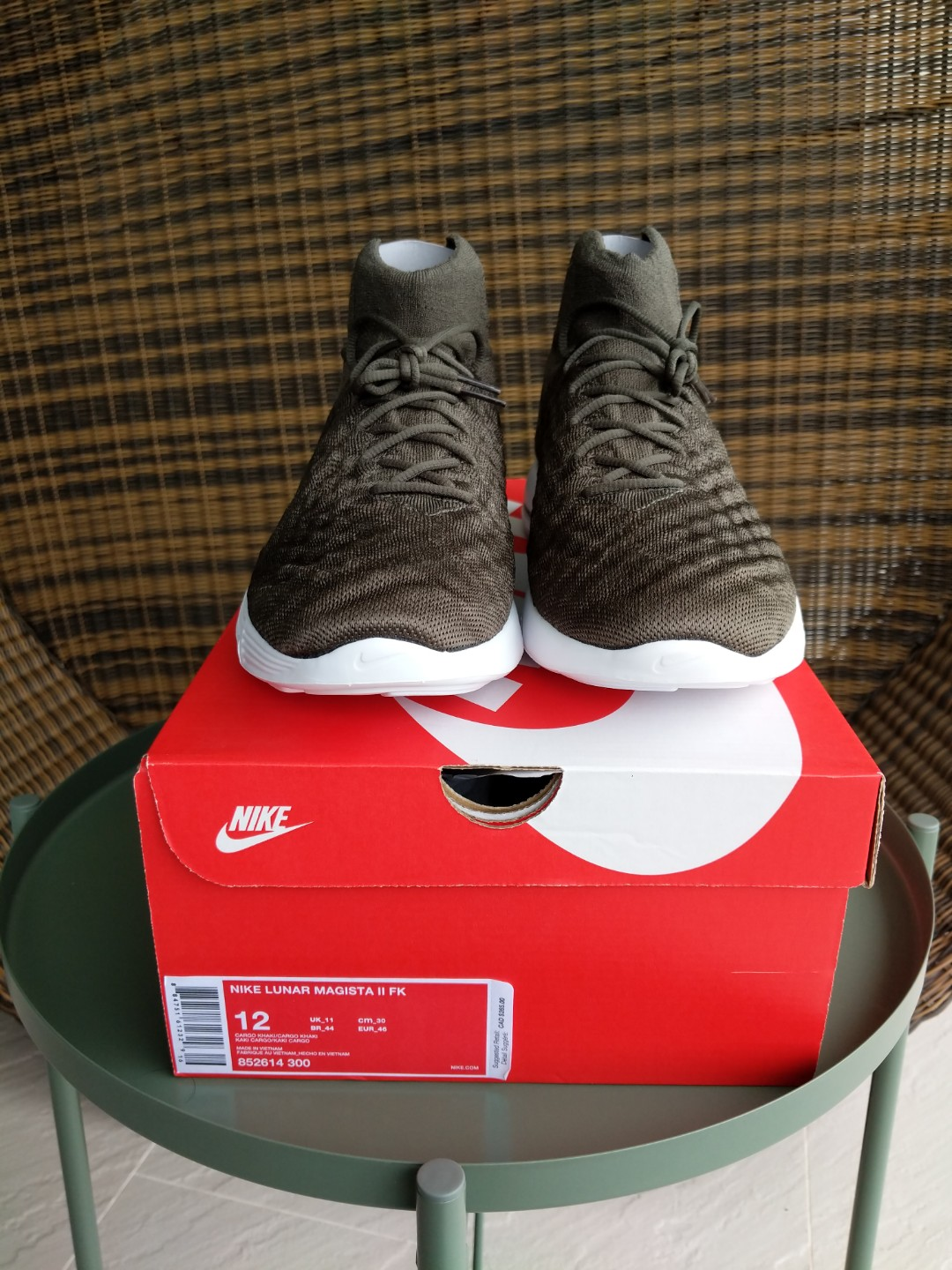 newest collection ef0ac a2f7f Nike lunar magista 2 flyknit, Men s Fashion, Footwear, Sneakers on Carousell