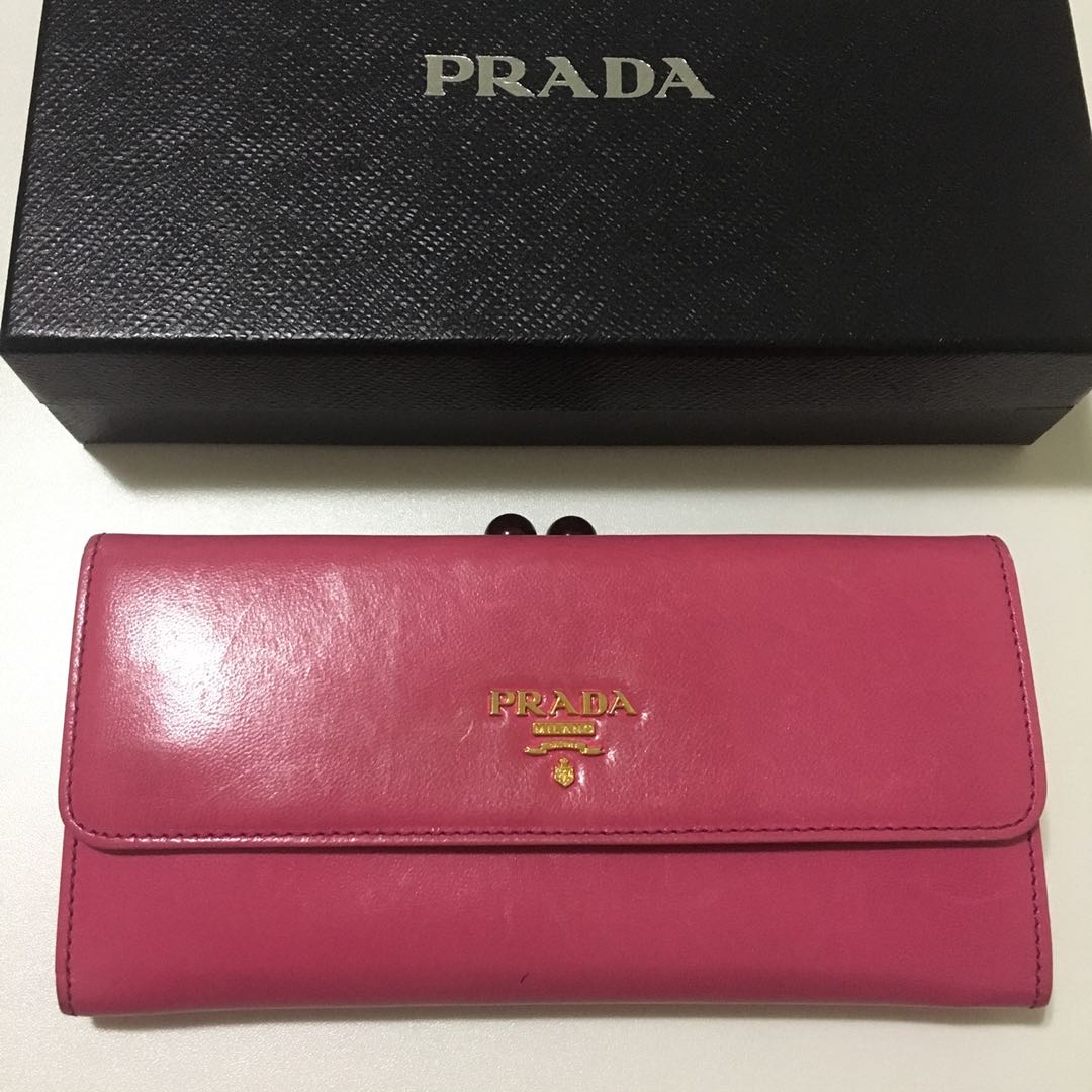 c114279a75049d ... coupon code prada hot pink wallet womens fashion bags wallets wallets  on 5d303 e0d58