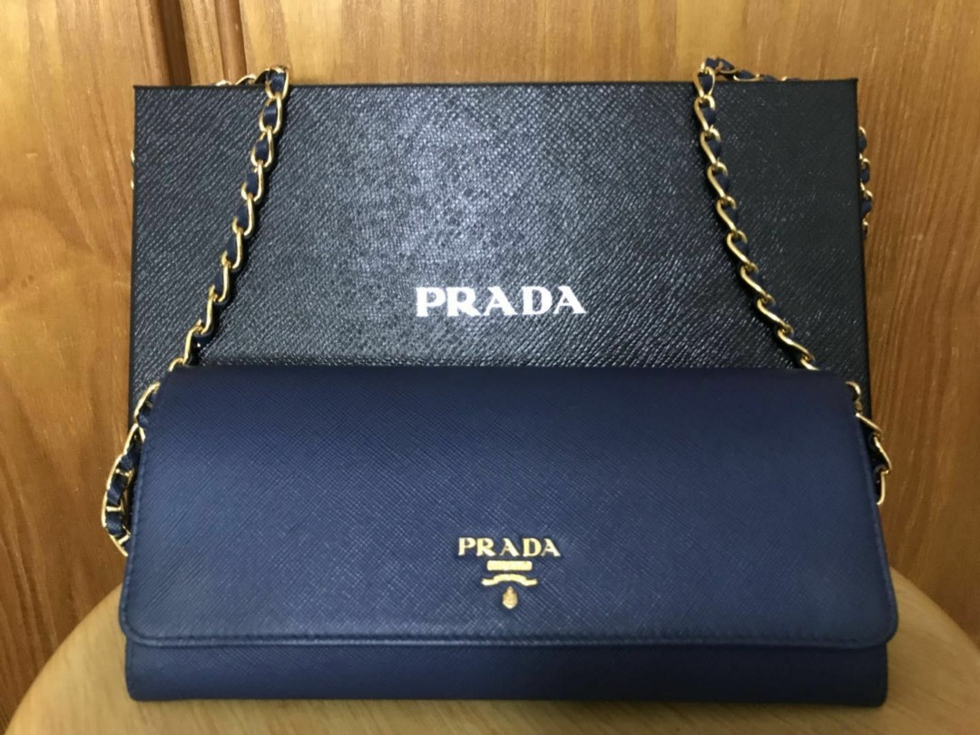 d858661ee122 Prada Sling Bag, Luxury, Bags & Wallets, Sling Bags on Carousell