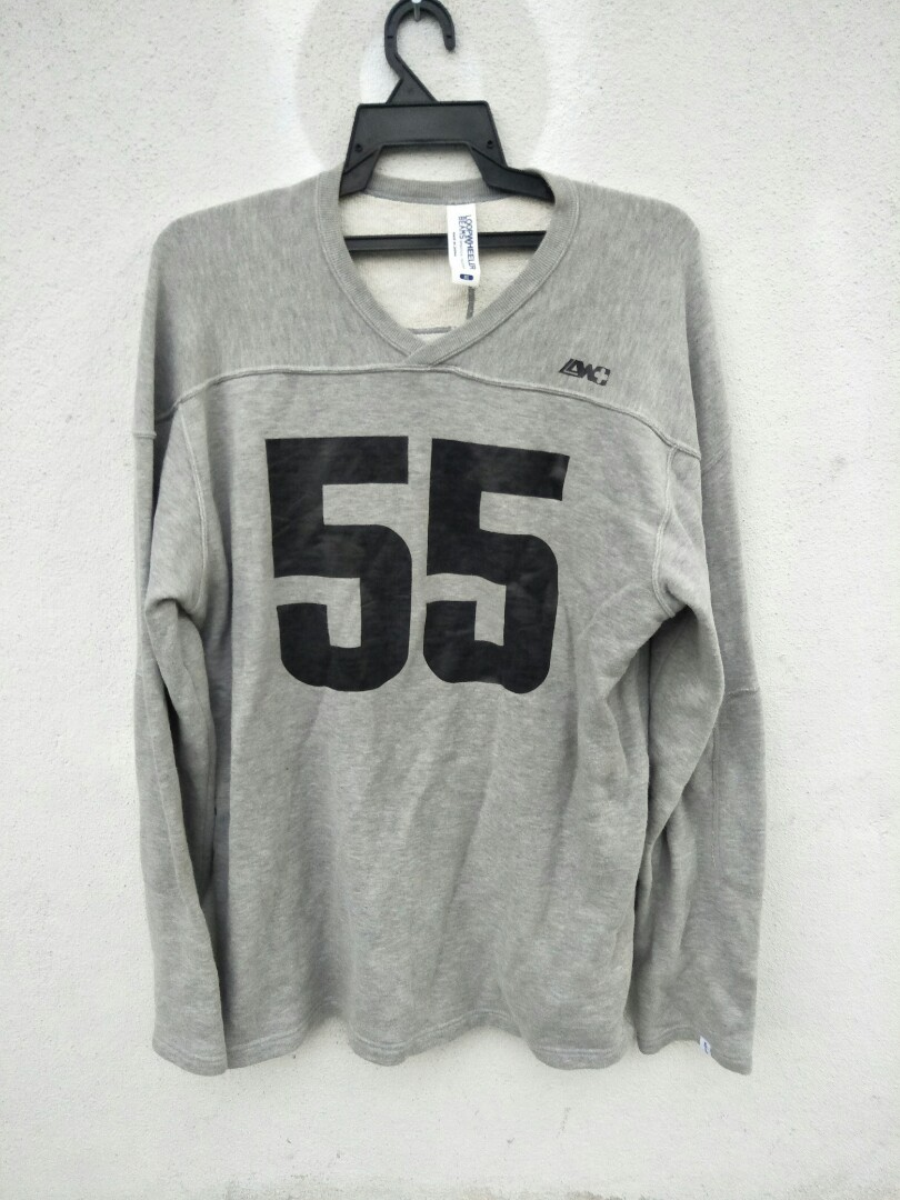 Rare beams plus big number japanese style sweatshirt bape