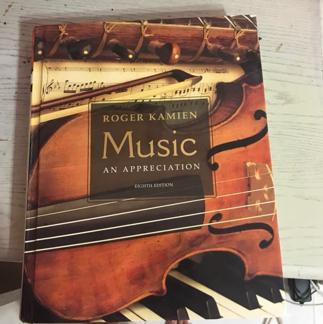 Roger kamien music an appreciation eight edition books stationery photo photo photo fandeluxe Choice Image