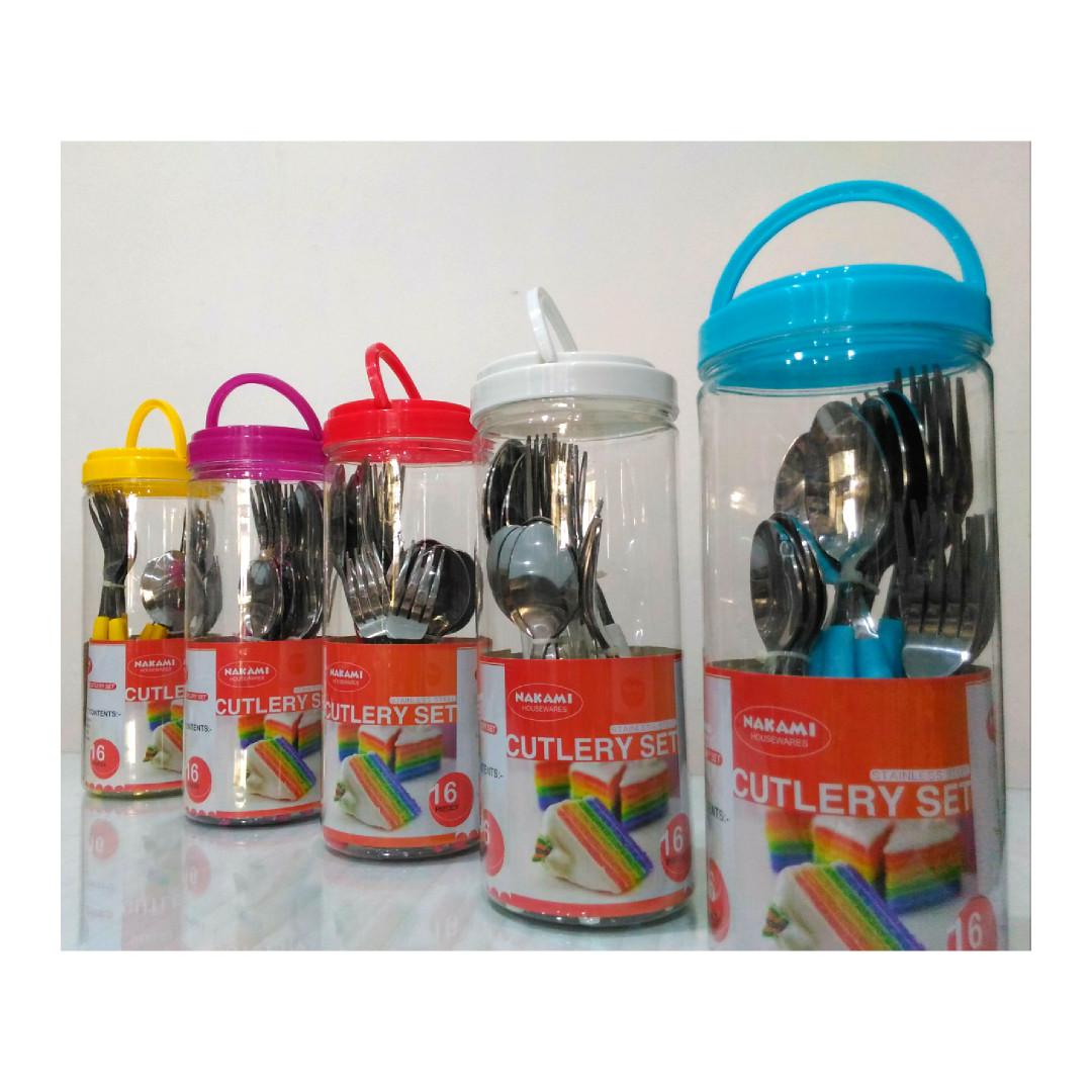 Sendok garpu set stainless steel kitchen appliances di carousell