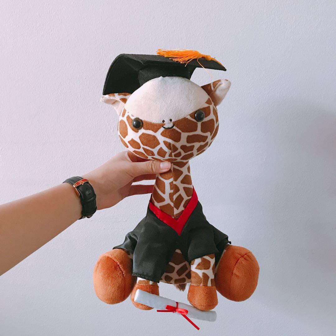 Serangoon Broadway Giraffe Stuffed Toy