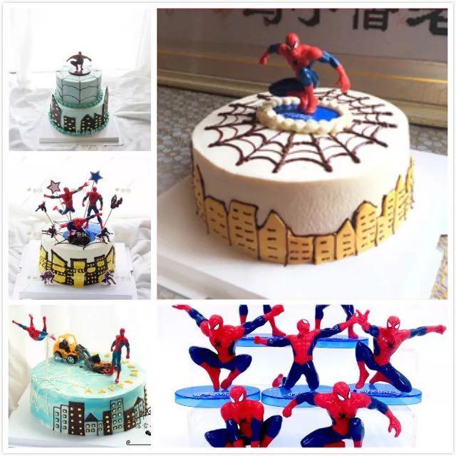 Wondrous Superheroes Spiderman Toy Spiderman Figurines Spiderman Cake Funny Birthday Cards Online Unhofree Goldxyz