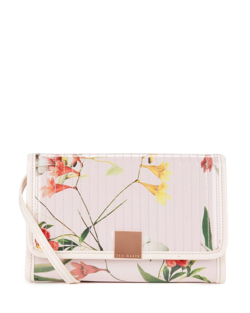 be68b2918f7bd9 TED BAKER PINK BOTENA BOTANICAL BLOOM IPAD CROSS BODY BAG SUITABLE ...