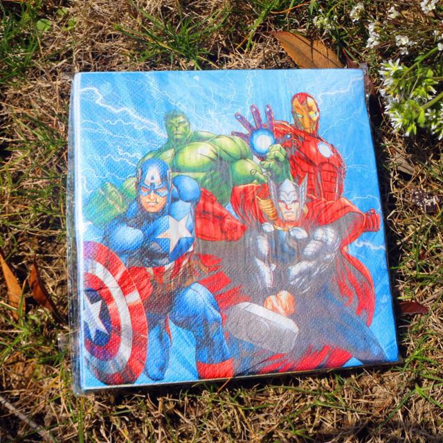 The Avengers Party Decorations Stuff