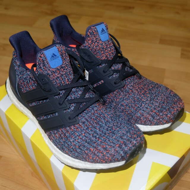 b58f7d9ce 🔥UK8🔥 Adidas Ultra Boost 4.0 Navy Multi Color