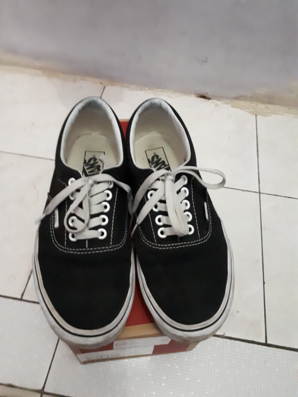 Vans Era Original Black white Size 8 40 4045850b9