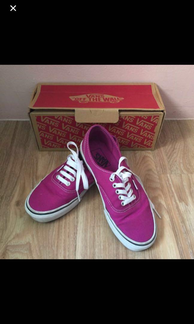 568594e843 Vans Purple Shoes - Authentic (Clearance)