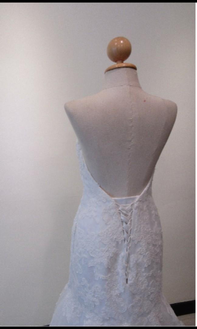 Wedding Gown (mermaid shape)