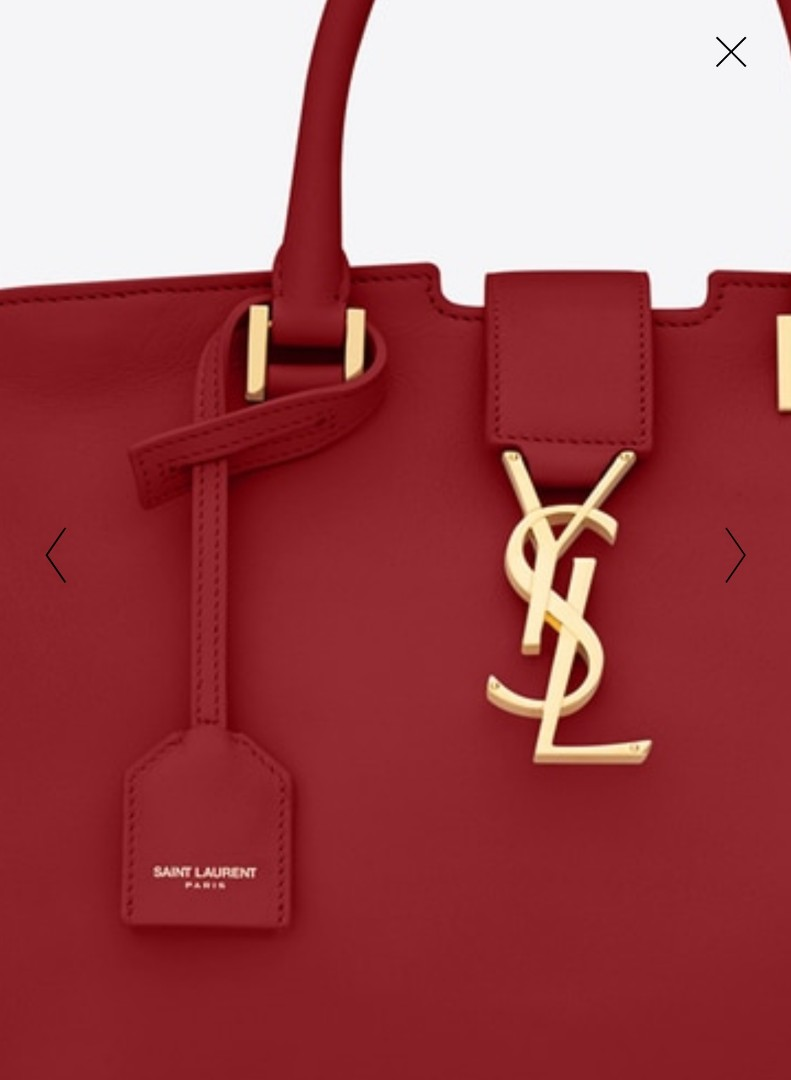 AUTHENTIC NEW YSL BABY CABAS BAG