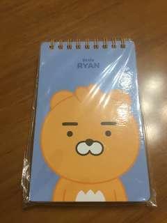 韓國Ryan 筆記簿