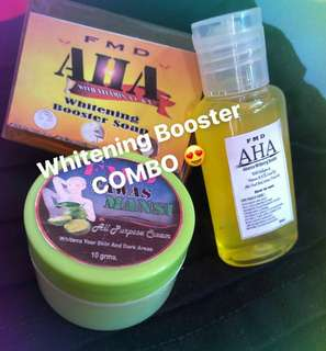 WHITENING BOOSTER COMBO 😍😊