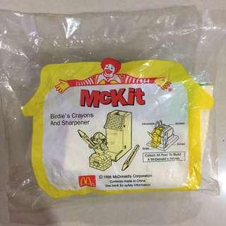 🚚 麥當勞 1998年 大鳥姐姐削筆機