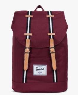 Herschel Retreat Backpack Windsor Wine 19.5L