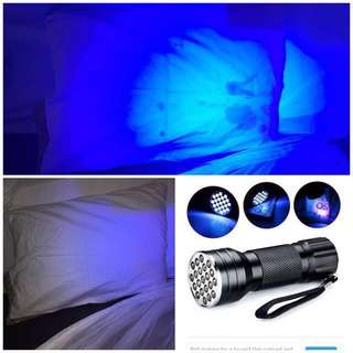 Uv Torch Light To Scan For Stains In Hotel Rooms