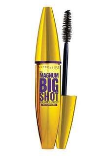 MAYBELLINE VOLUM' EXPRESS MAGNUM BIG SHOT MASCARA BLACK