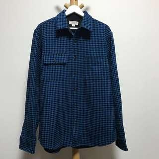 Wallace & Barnes . J-Crew wool shirt jacket 恤衫外套