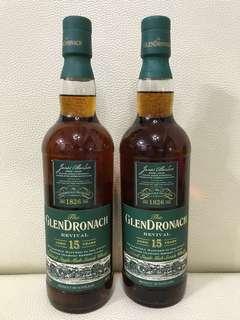 Whisky Glendronach 15 Revival (靚水位)