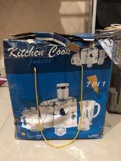 Kitchen Cook Mixer Juicer Blender 7 in 1