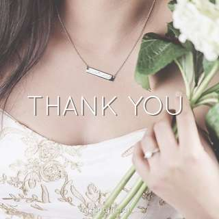 THANK YOU ✨ | Custom Jewellery