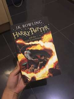 Harry Potter and the half blood prince Buku Novel JK Rowling