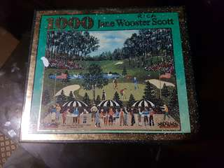 Jane Wooster Scott 1000 Piece Puzzle
