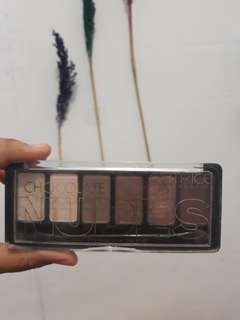 Eyeshadow palette catrice chocolate nudes