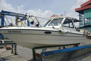 Sports Half Cabin Cruiser / Boat For Sale