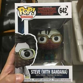 Funko pop stranger things steve with bandana