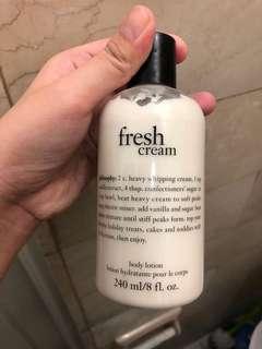 Philosophy Fresh Cream Lotion