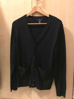 Authentic Gap Cardigan true black