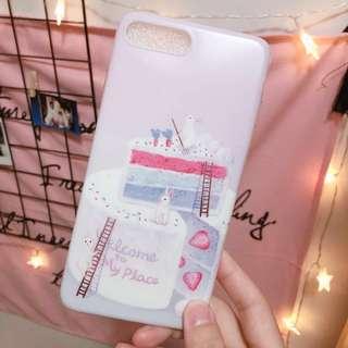 【包平郵】可愛風兔子iPhone 7plus Case 軟殻 包邊