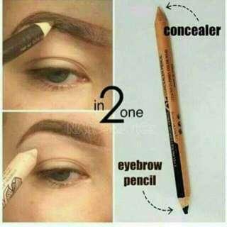 2in1 eyeliner eyebrow and concealer